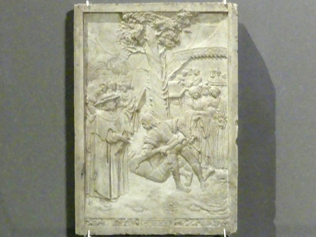 Hans Daucher: Allegorischer Zweikampf Albrecht Dürers mit Apelles, 1522