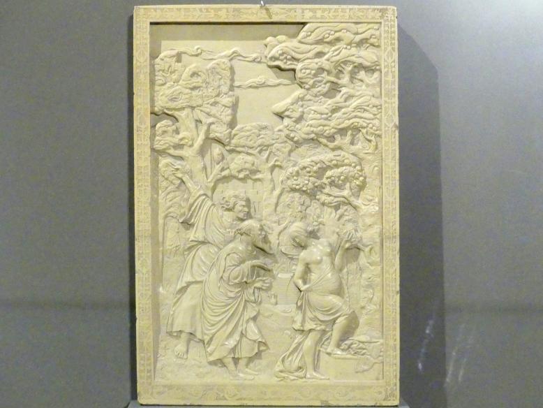 Victor Kayser: Susanna und die beiden Alten, um 1530