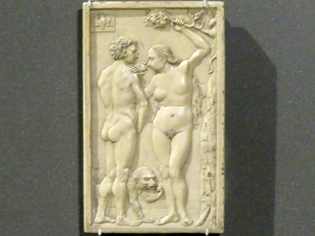 Ludwig Krug: Adam und Eva (Der Sündenfall), 1514