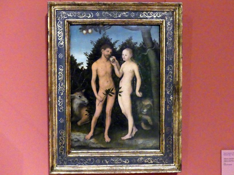 Lucas Cranach der Ältere: Adam und Eva, 1533