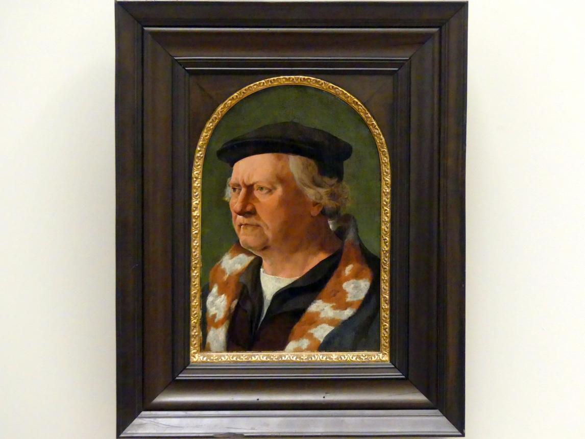 Jan van Scorel: Bildnis eines älteren Mannes, um 1530