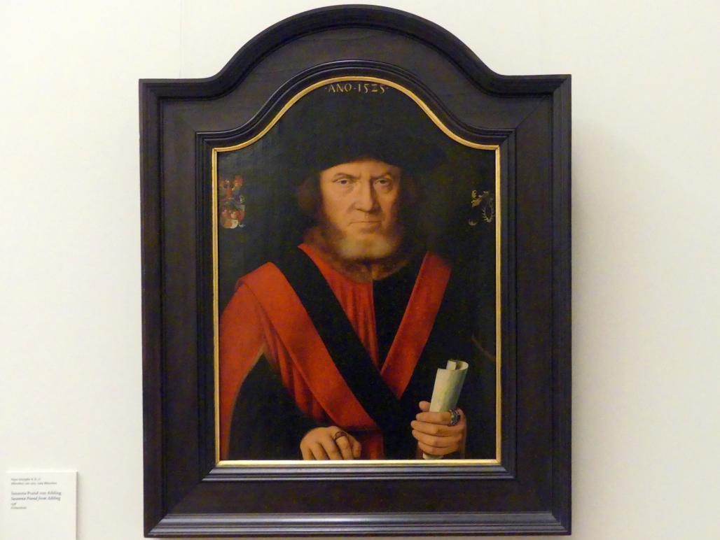 Bartholomäus Bruyn der Ältere: Johannes von Reidt, Bürgermeister von Köln, 1525