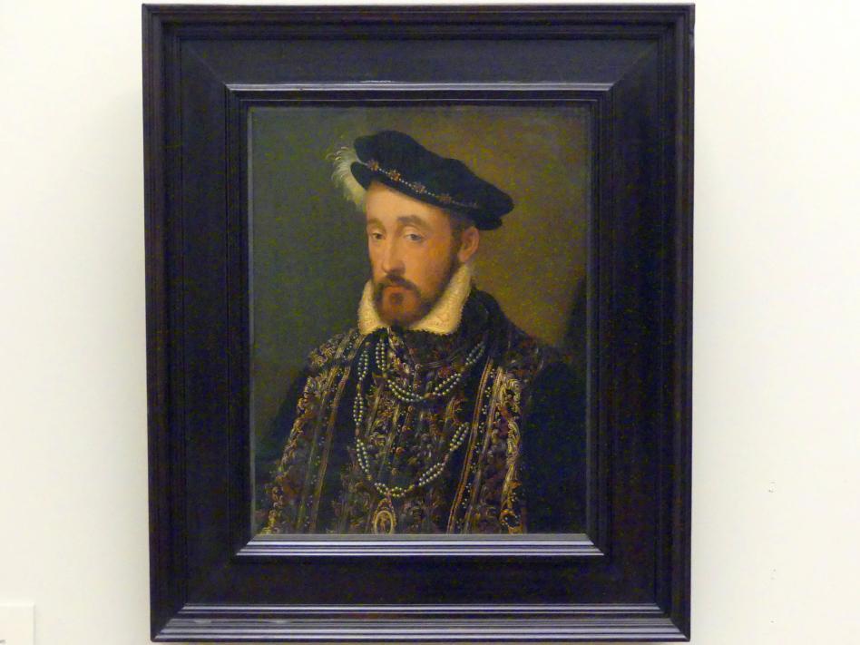 François Clouet (Schule): Heinrich II., König von Frankreich, 1555
