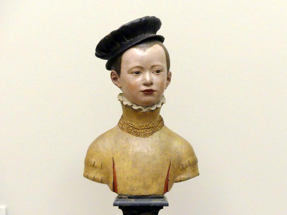 Germain Pilon: Büste eines jugendlichen Prinzen, um 1555 - 1560