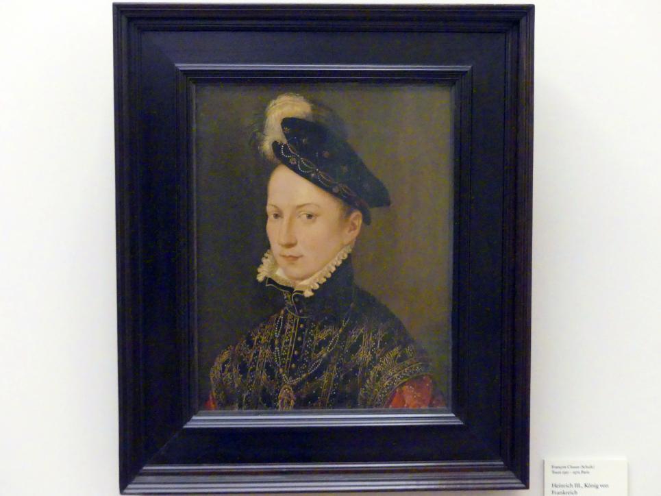 François Clouet (Schule): Heinrich III., König von Frankreich, 1560 - 1565