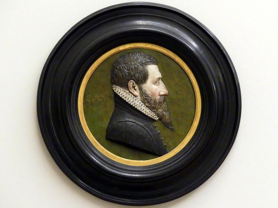 Johann Gregor van der Schardt: Profilbildnis eines Unbekannten, 1580