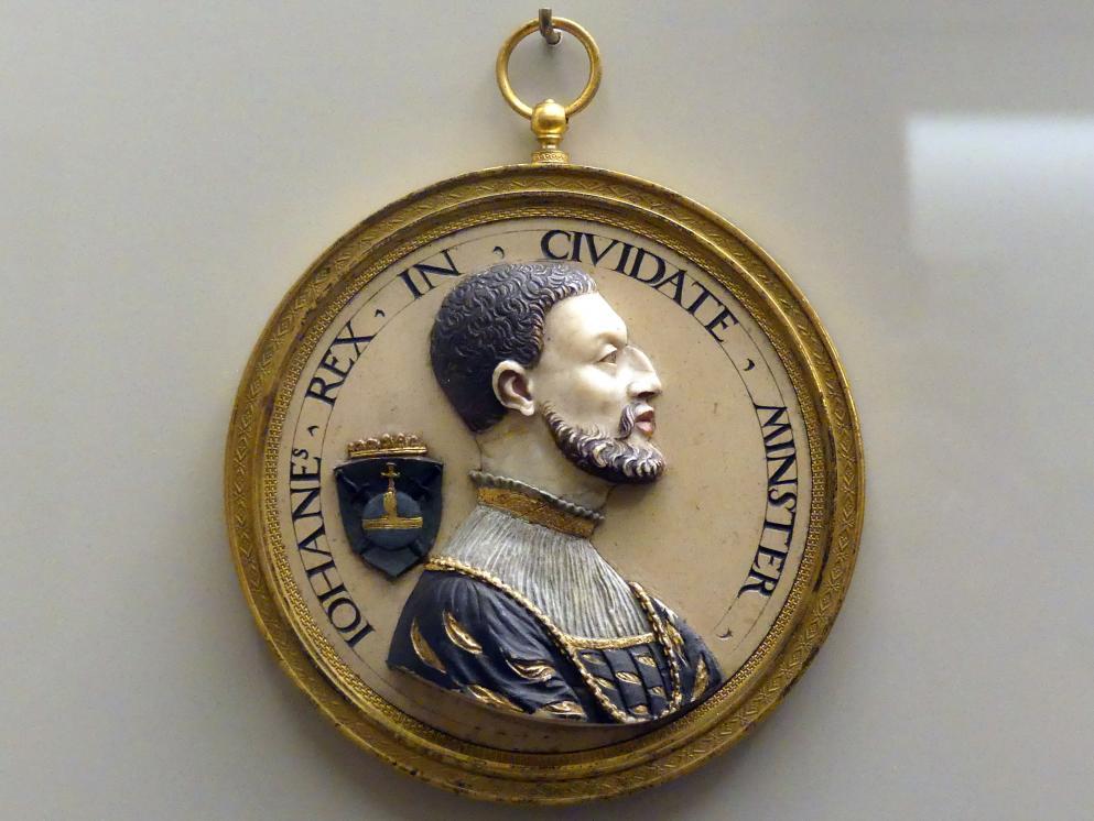 Conrat Meit: Johann von Leyden, König der Wiedertäufer, um 1535