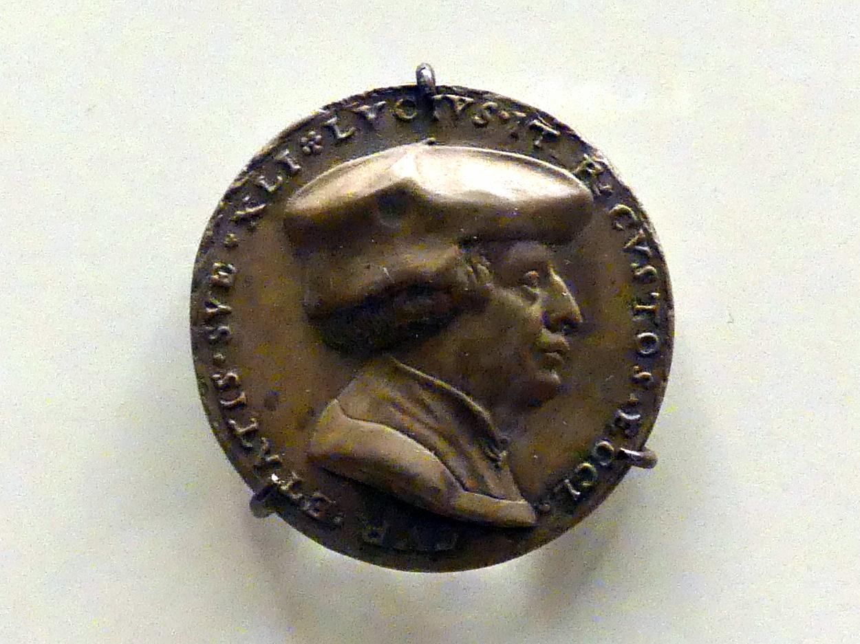 Matthes Gebel: Bildnis des Lucius Iter, nach 1540
