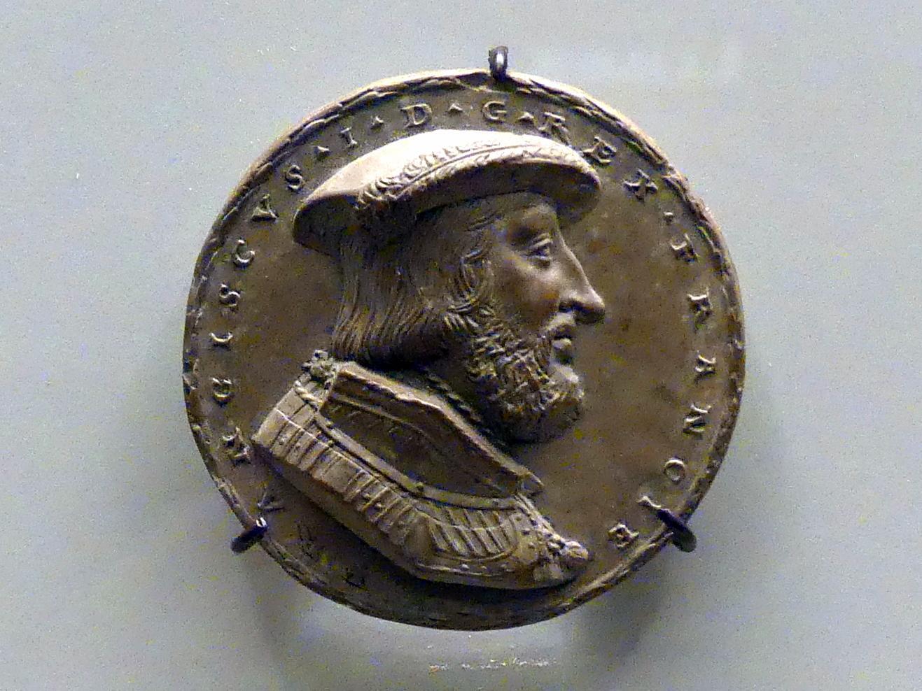 Matthes Gebel: Bildnis Franz I., König von Frankreich, um 1530