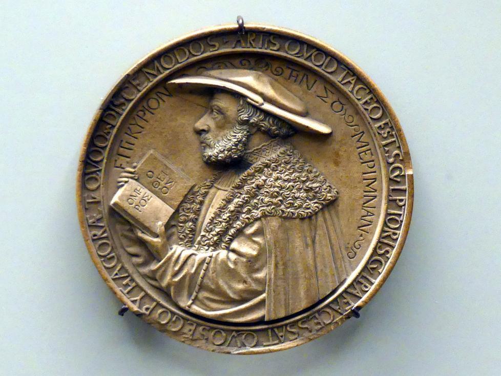 Bildnis des Arztes und Humanisten Adolph Occo II., um 1540