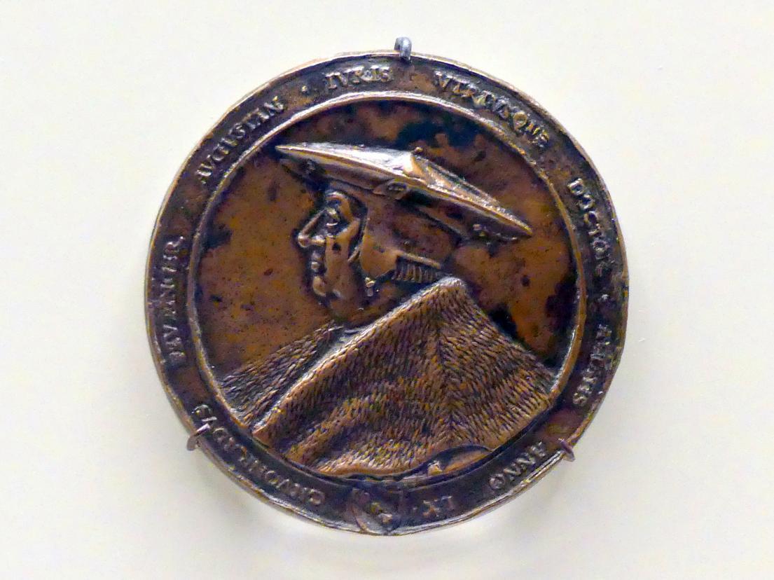 Friedrich Hagenauer: Bildnis des Konrad Peutinger, 1527