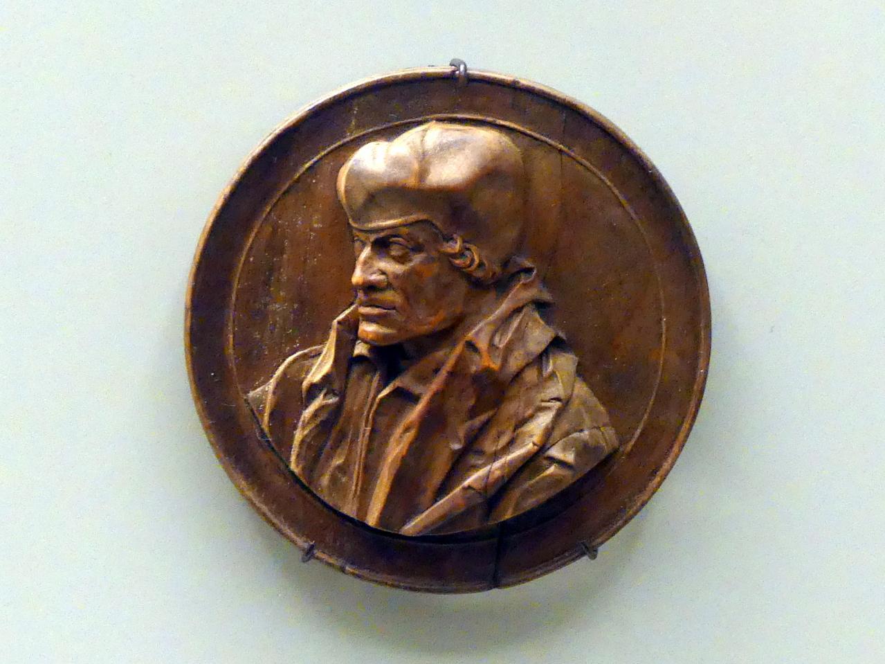Bildnis des Erasmus von Rotterdam, Beginn 17. Jhd.