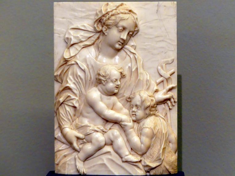 Johann Christian Kirchner: Maria mit Jesus und dem Johannesknaben, um 1730