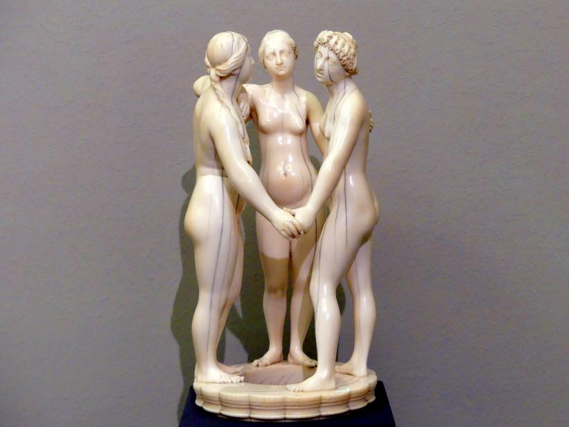 Leonhard Kern: Die drei Grazien, um 1650