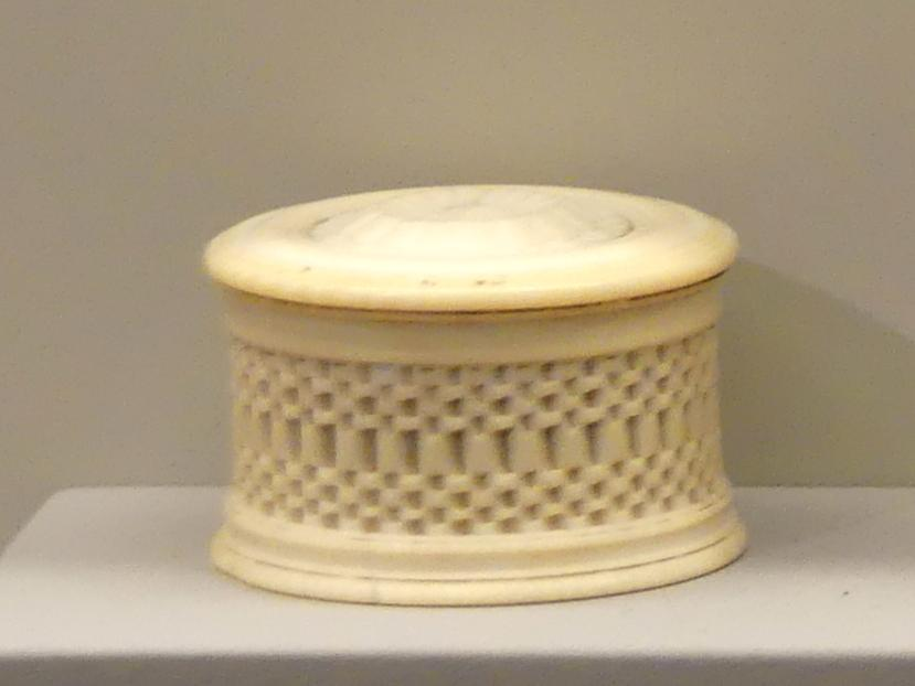 Miniaturdose, um 1670