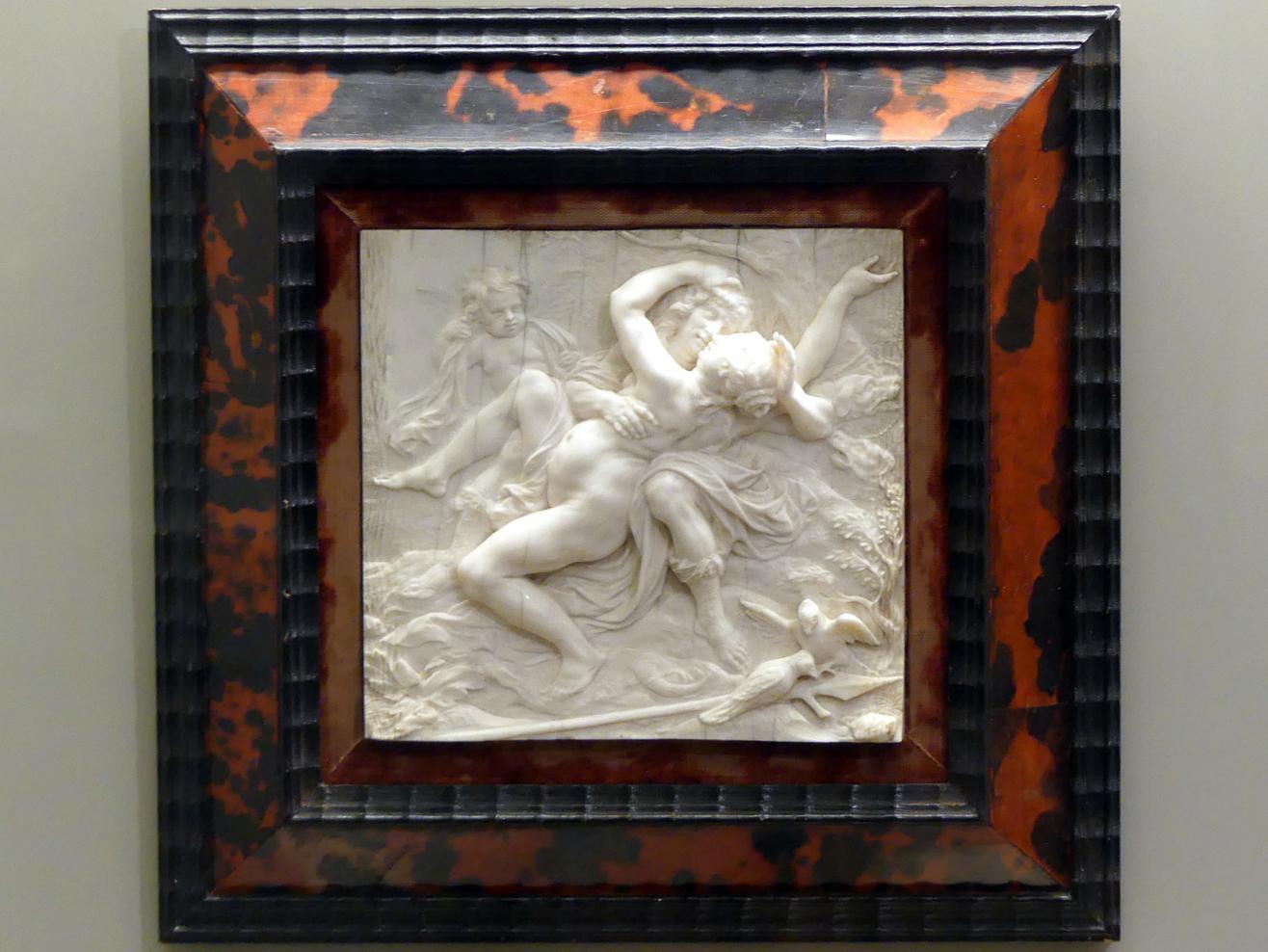 Joachim Henne: Venus in den Armen von Adonis, um 1670 - 1680