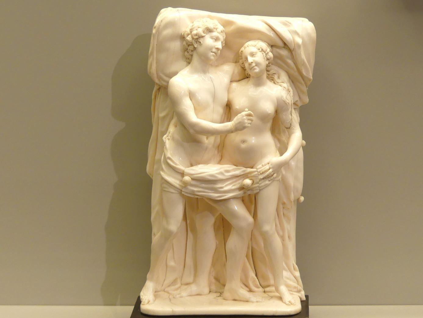 Zacharias Hegewald: Adam und Eva als Liebespaar, um 1530
