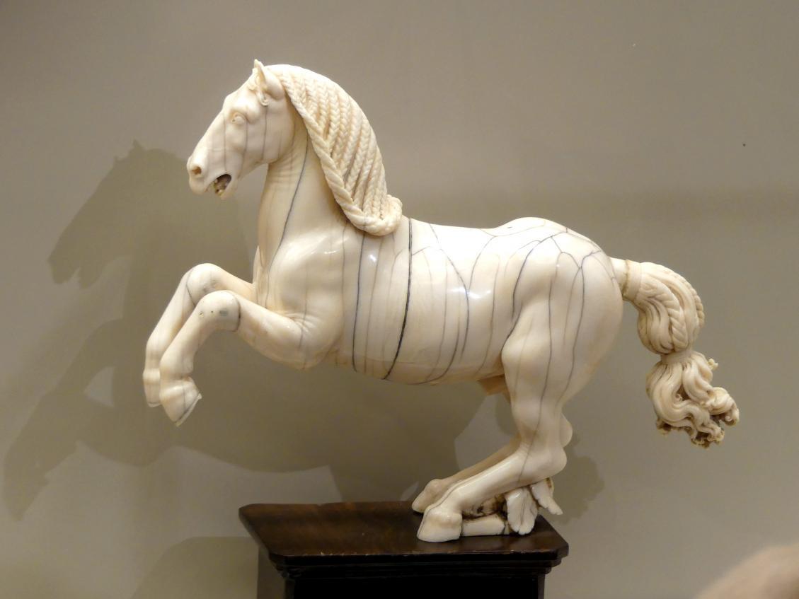 Leonhard Kern: Steigendes Pferd, um 1640 - 1645