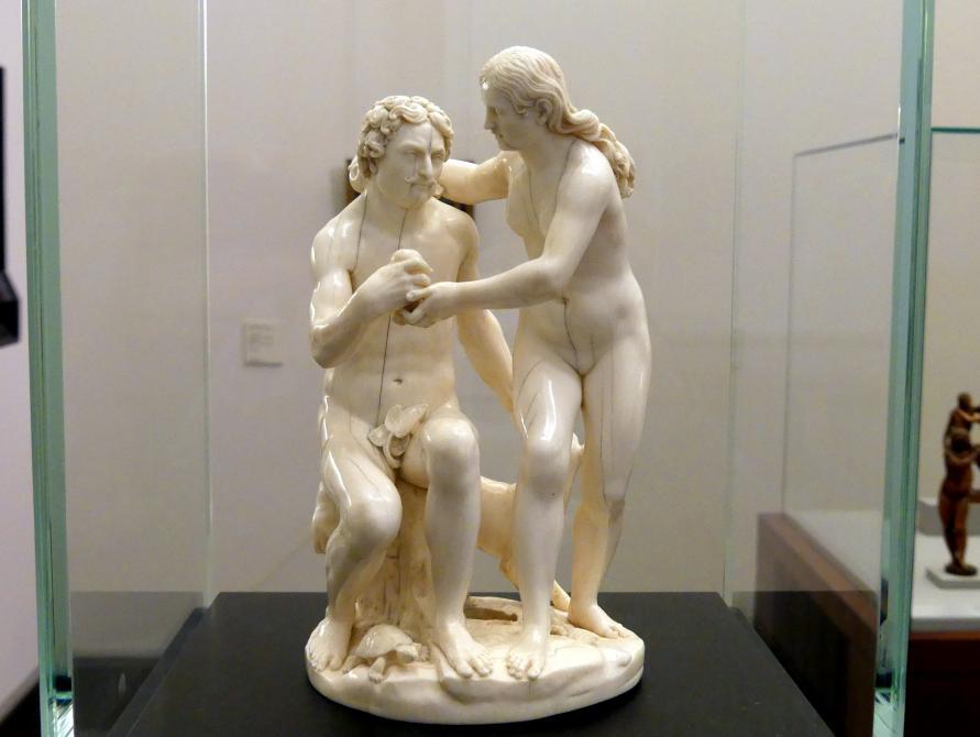 Leonhard Kern: Adam und Eva (Sündenfall), um 1645 - 1646