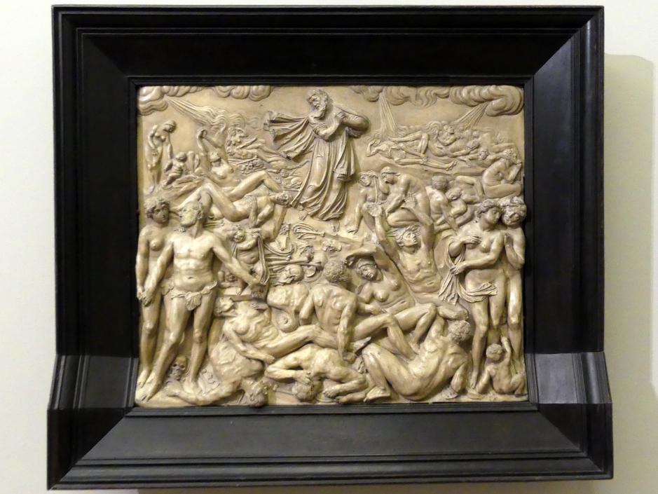 Leonhard Kern: Vision des Ezechiel, um 1640 - 1650