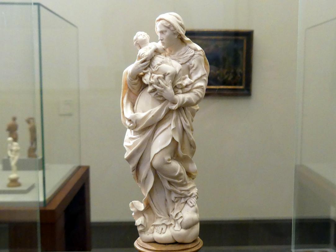 Ehrgott Bernhard Bendl: Hl. Anna mit dem Marienkind im Arm, vor 1700