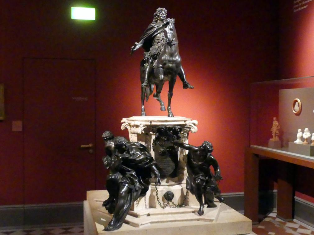 Johann Jacobi: Reiterstandbild des Großen Kurfürsten, 1712