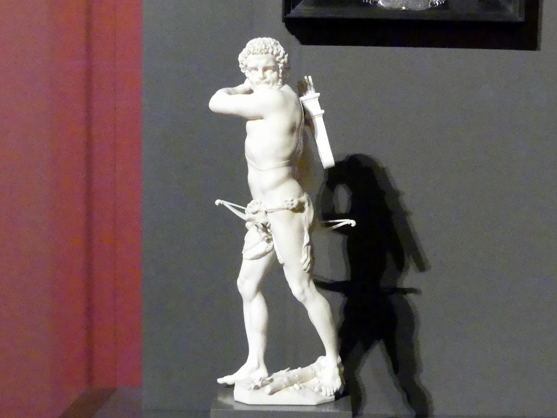 Raimund Faltz: Herkules mit Bogen und Köcher, vor 1694