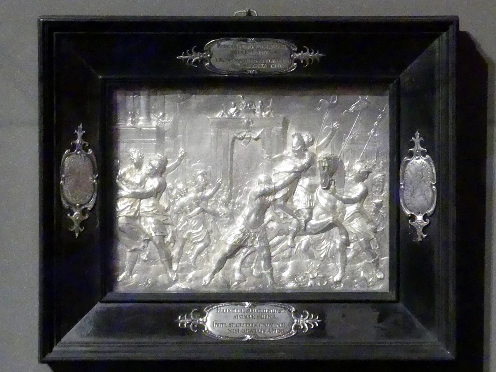 Raub der Sabinerinnen, um 1620 - 1625