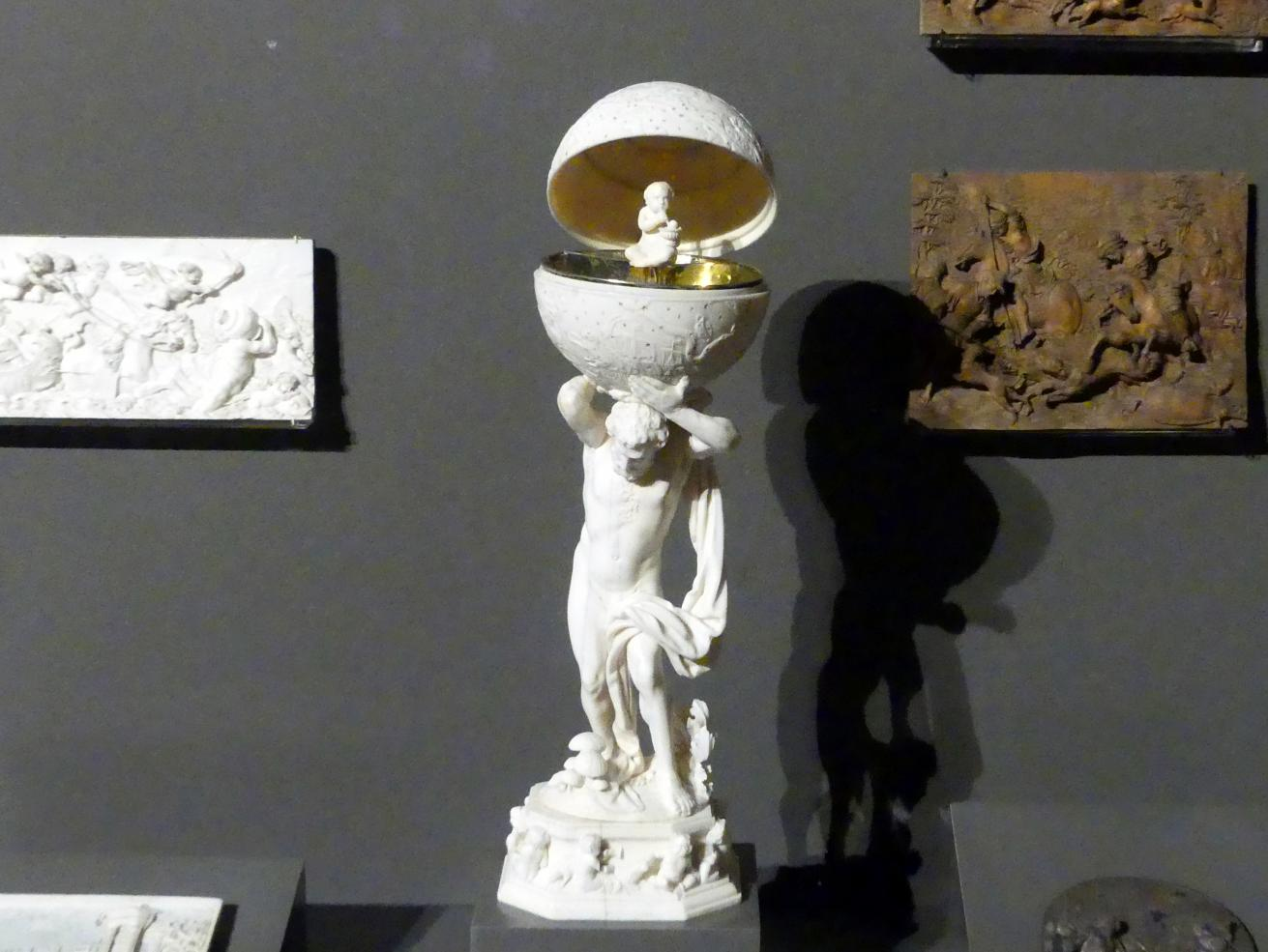 Raimund Faltz (Umkreis): Herkules trägt das Himmelsgewölbe, um 1700