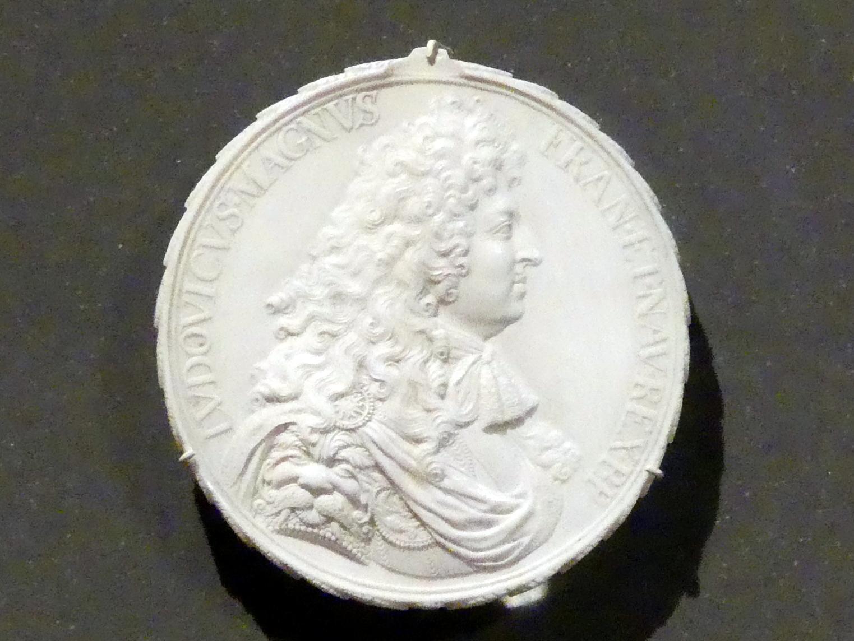 Michel Mollart: Ludwig XIV., König von Frankreich, um 1690