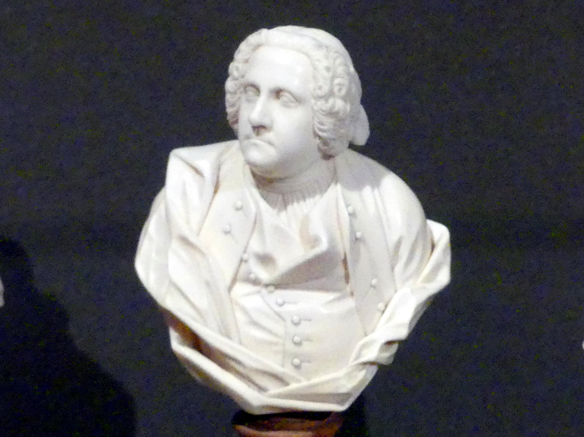 Ludwig Lücke (Johann Christian Ludwig Lücke): Bildnis eines Unbekannten, um 1750 - 1760