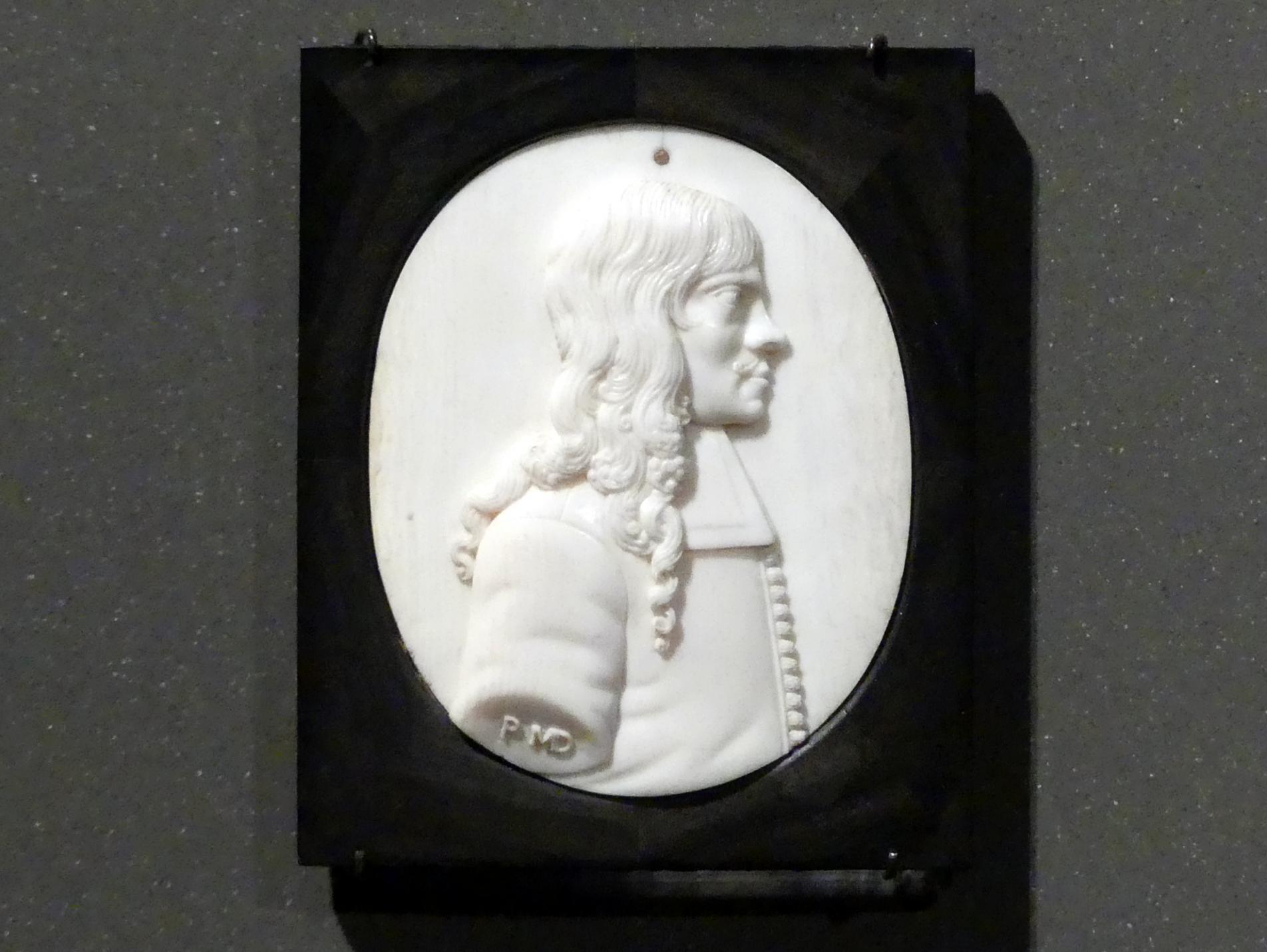 Johann Michael Döbel: Bildnis eines Mannes, wohl Fürst Michael Thomas Korybur Wisniowiecke, vor 1673