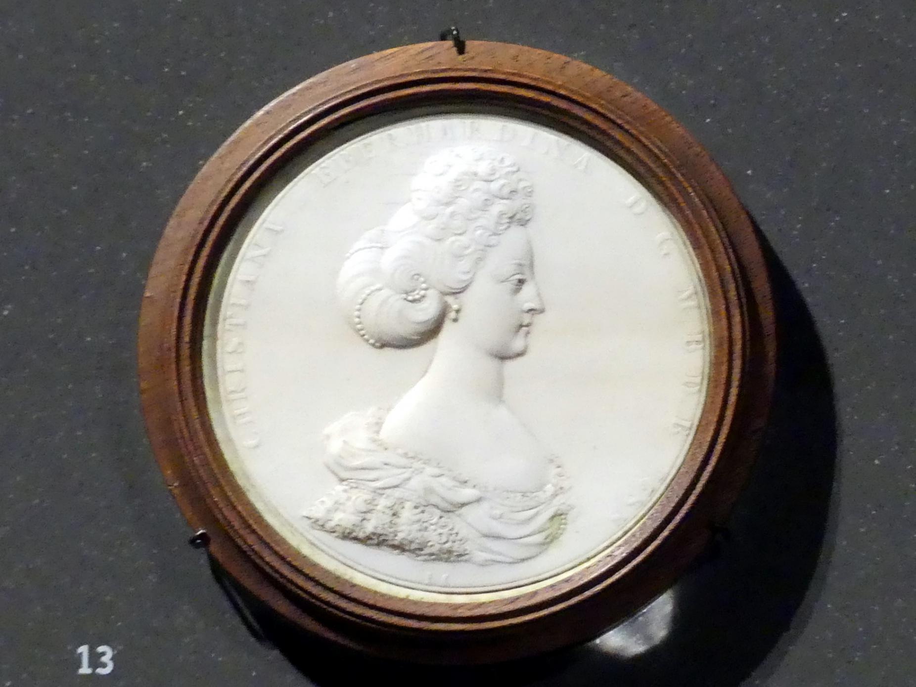 Jean Cavalier: Markgräfin Christiane Eberhardine von Brandenburg-Bayreuth, 1688
