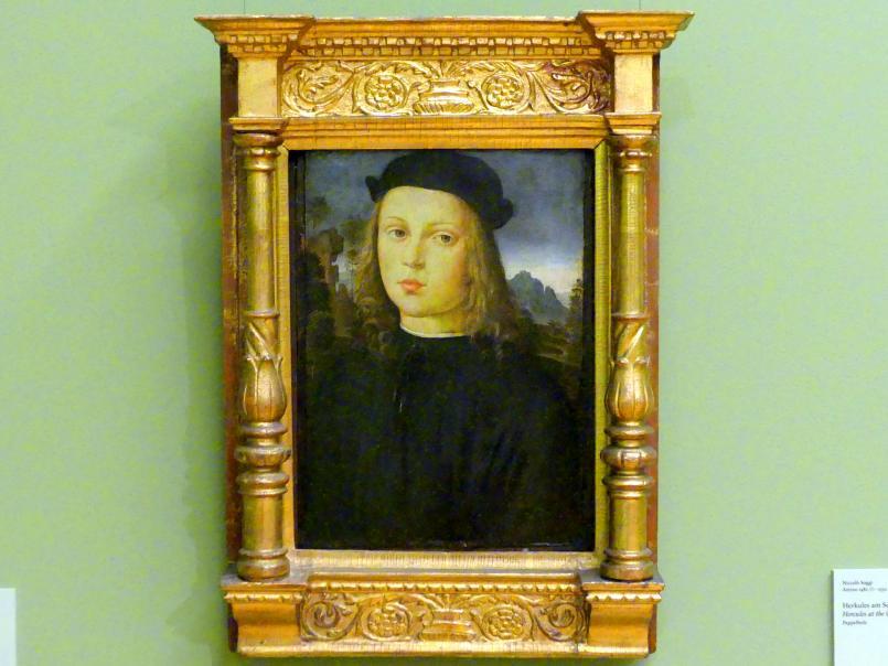 Meister von Santo Spirito: Bildnis eines Jünglings, um 1500