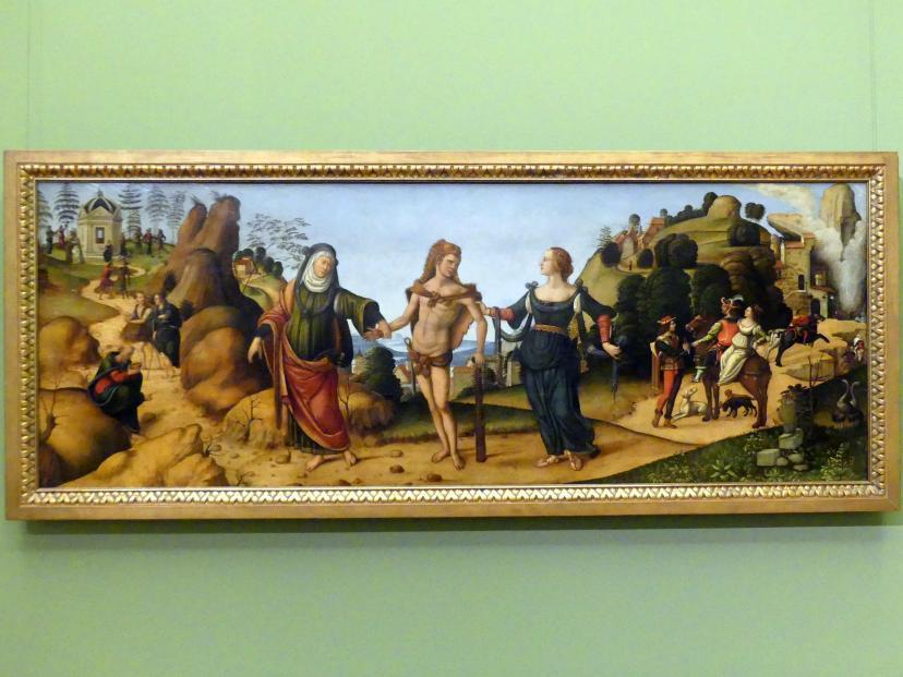 Niccolò Soggi: Herkules am Scheidewege, Undatiert