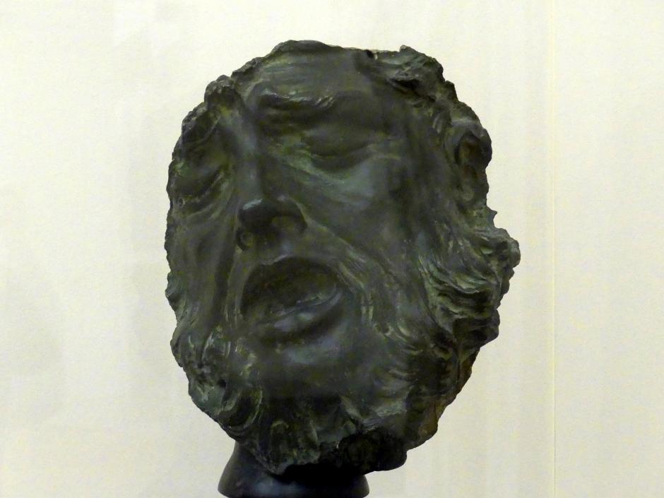 Andreas Schlüter: Maske eines sterbenden Kriegers, 1696