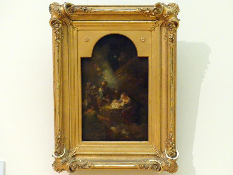 Antoine Pesne: Die Anbetung de Hirten, um 1748