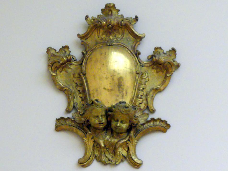 Paul Egell: Kartusche mit Cherubköpfen, 1739