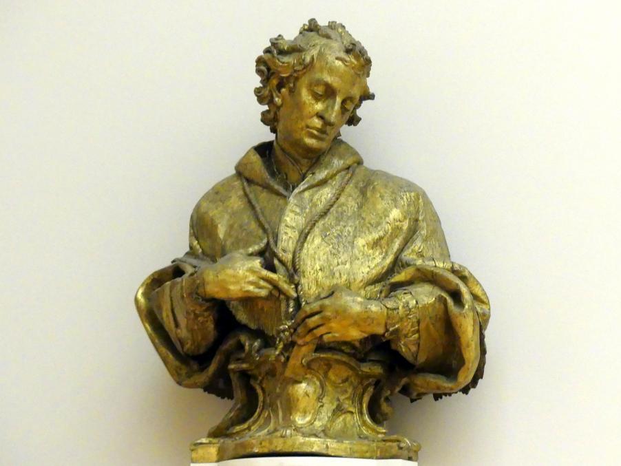 Paul Egell: Büste des hl. Karl Borromäus, 1739