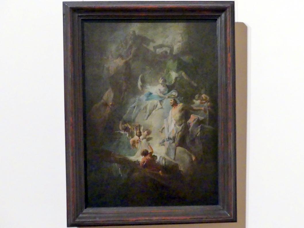 Franz Sigrist: Die Ankunft des Erlösers im Himmel, Undatiert