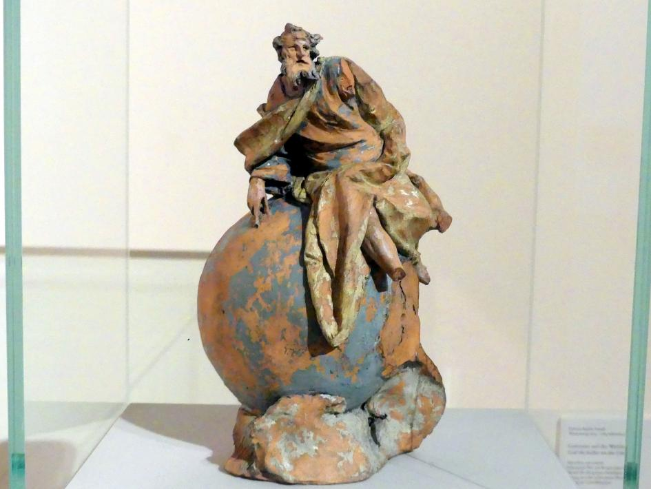 Johann Baptist Straub: Gottvater auf der Weltkugel, um 1760 - 1765