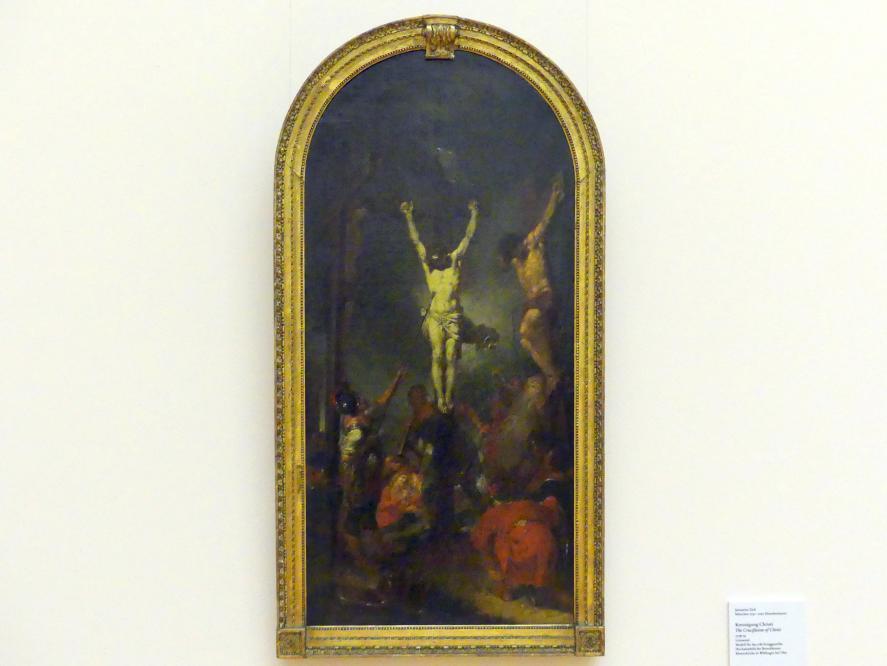 Januarius  Zick: Kreuzigung Christi, 1778 - 1779