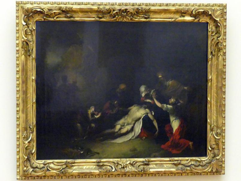 Christian Wilhelm Ernst Dietrich: Die Beweinung Christi, 1734, Bild 1/2