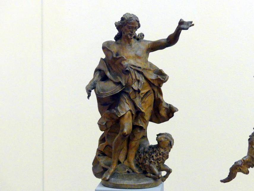 Ferdinand Tietz (Ferdinand Dietz): Johannes der Täufer, um 1740