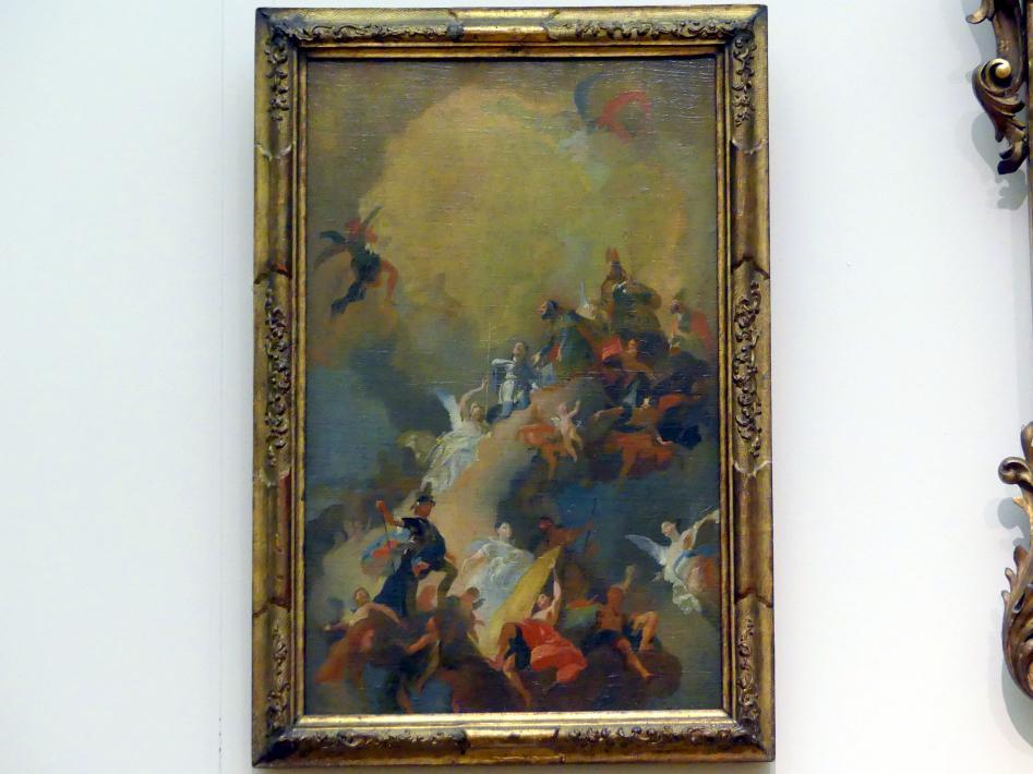 Franz Anton Maulbertsch: Die Apotheose der ungarischen Heiligen, 1772 - 1773
