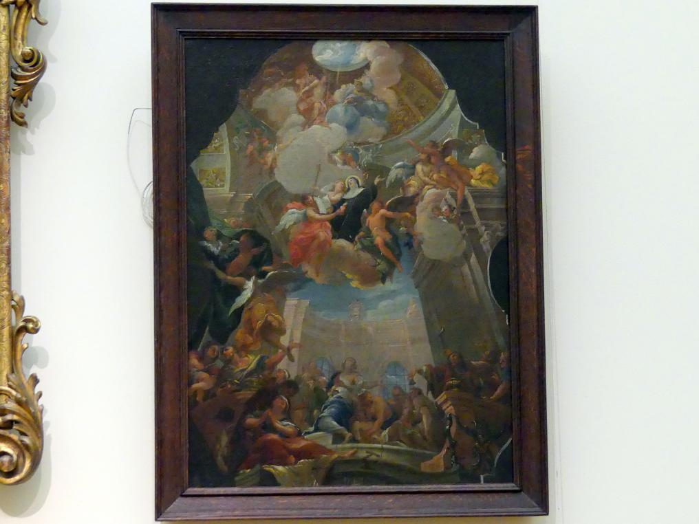 Otto Gebhard: Die Apotheose der hl. Ottilie, um 1735