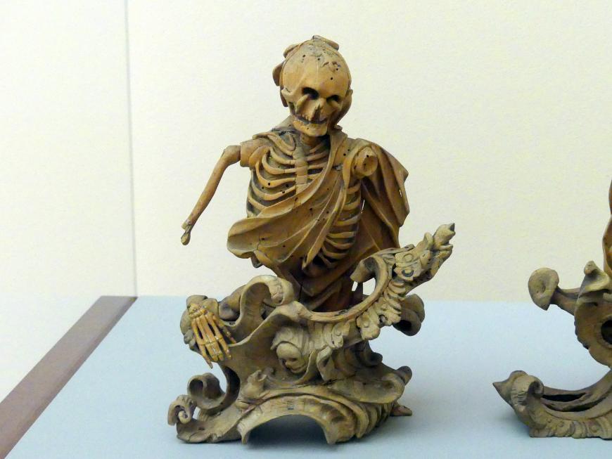 Sinnbild des Todes - Aus einer Folge der Vier Letzten Dinge, Mitte 18. Jhd.