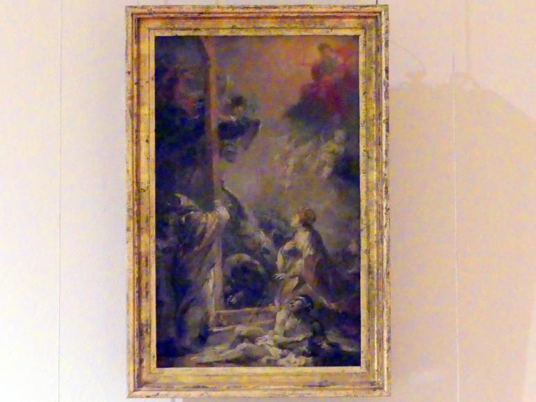 Michael Willmann: Die Findung des Heiligen Kreuzes, um 1701