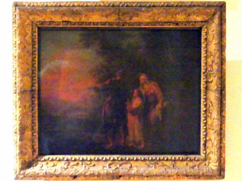 Johann Conrad Seekatz: Die Rückkehr der Hl. Familie aus Ägypten, nach 1753