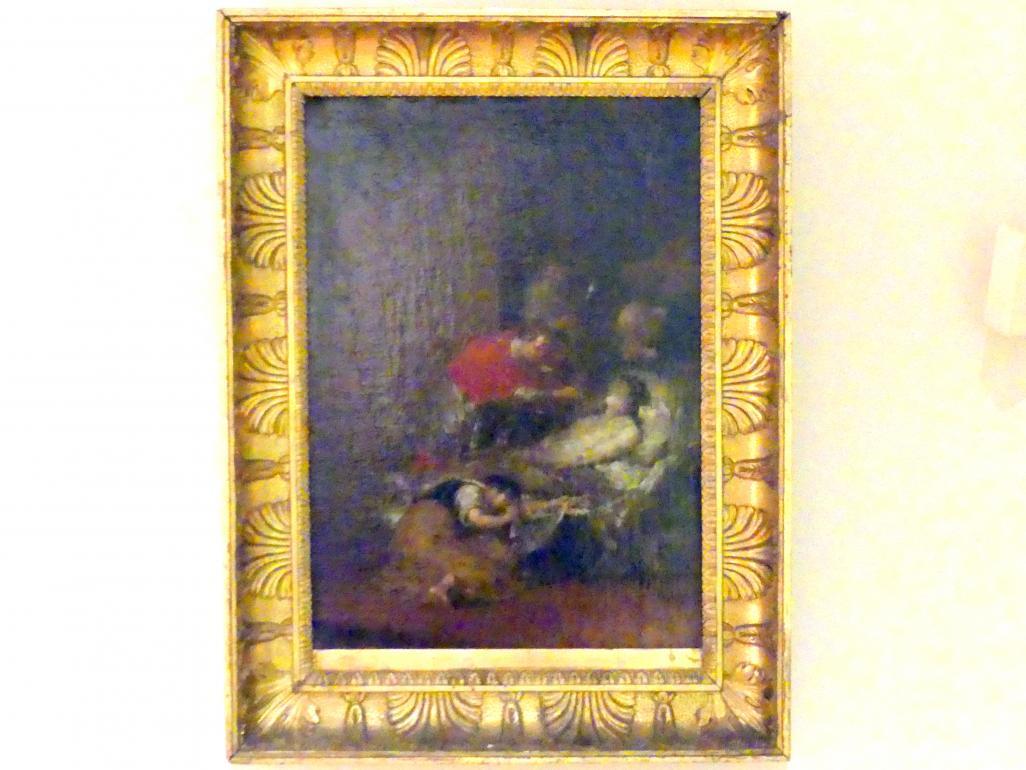 Januarius  Zick: Der hl. Karl Borromäus reicht einem Pestkranken das Abendmahl, 1787